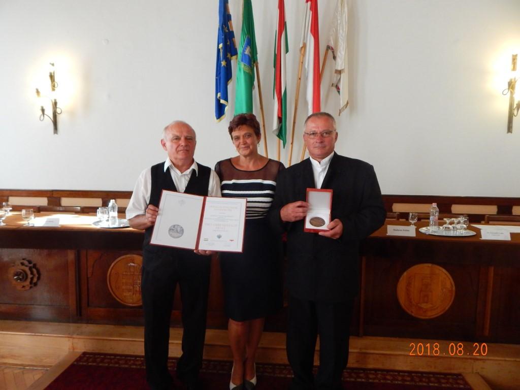 A Pro Urbe díj átadási ünnepsége